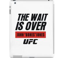 john bones jones ufc iPad Case/Skin