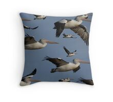 Squadron Throw Pillow