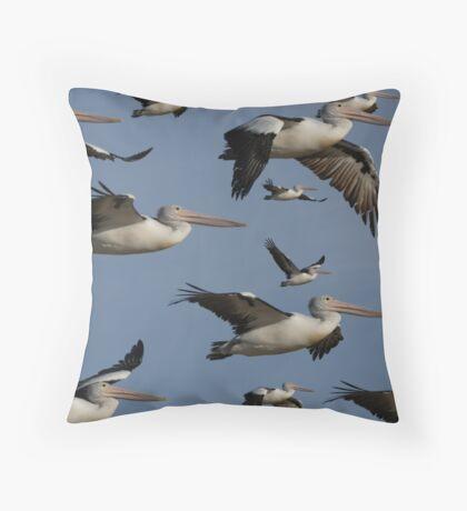 Squadron Throw Pillow