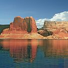 Glen Canyon On Lake Powell by phil decocco