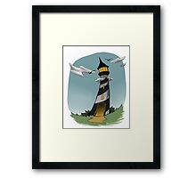 The Darkhouse Framed Print