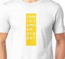 Christopher Street - NYC - Yellow Unisex T-Shirt