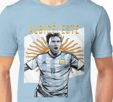 Messi Argentina World Cup Shirt Unisex T-Shirt