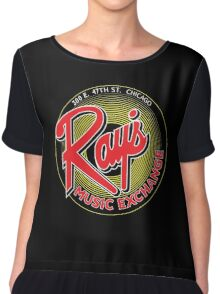 Ray's Music Exchange - Red Variant Chiffon Top