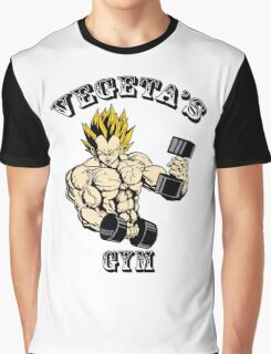 Vegeta's Gym Graphic T-Shirt
