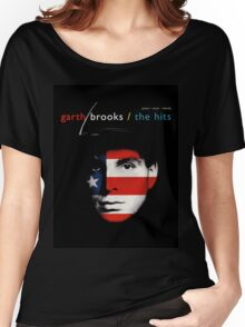 GARTH BROOKS THE HITS Women's Relaxed Fit T-Shirt
