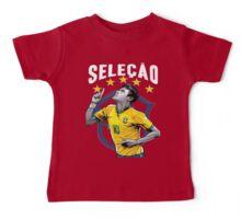 Neymar Brazil World Cup Shirt Baby Tee