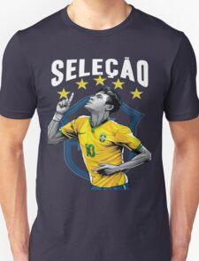 Neymar Brazil World Cup Shirt T-Shirt