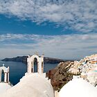 Beautiful Santorini by Marylou Badeaux