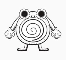 Poliwhirl de los Muertos | Pokemon & Day of The Dead Mashup T-Shirt