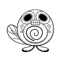 Poliwag de los Muertos | Pokemon & Day of The Dead Mashup by abowersock