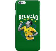 Neymar Brazil World Cup Shirt iPhone Case/Skin