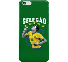 Neymar Brazil World Cup Shirt iPhone Case/Skin