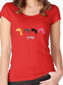 grease Women's Fitted Scoop T-Shirt