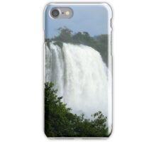 Iguassu Falls up close iPhone Case/Skin