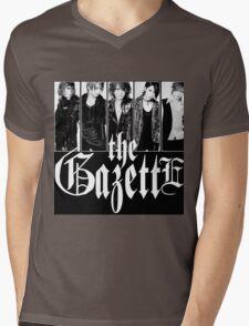 THE GAZETTE JAPAN ROCK BAND Mens V-Neck T-Shirt