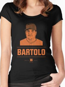 Bartolo Women's Fitted Scoop T-Shirt