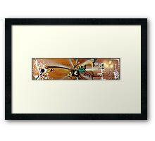Panda Love Pop Series #1 Framed Print