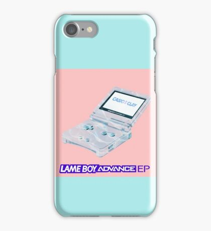 CASIOS CLAY - LAMEBOY ADVANCE EP iPhone Case/Skin