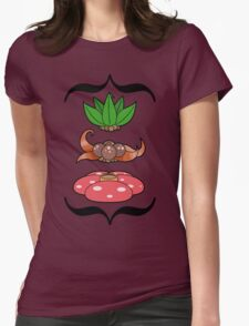 Odd Plants Womens Fitted T-Shirt