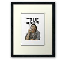 Rust - True Detective  Framed Print