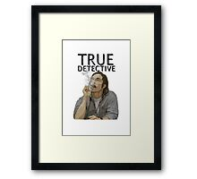 Rust - True Detective  Framed Print