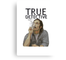 Rust - True Detective  Canvas Print