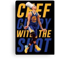 stephen curry Canvas Print