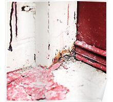 { Corners: where the walls meet #09 } Poster
