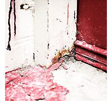 { Corners: where the walls meet #09 } Photographic Print