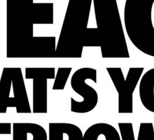 I Teach What's Your Superpower Sticker
