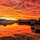 Best EVER Sunrise - Cleveland Qld Australia by Beth  Wode