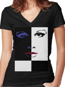 Doctor Who - Purple Rain Shirt (Version 1) Women's Fitted V-Neck T-Shirt