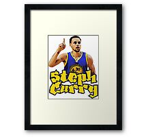 steph curry Framed Print