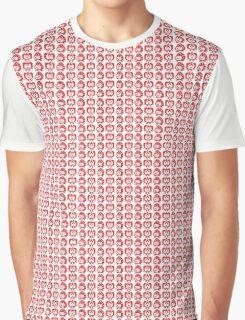 Strawberry Apple print tamagotchi Graphic T-Shirt