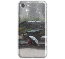 Caught in a Monsoon iPhone Case/Skin