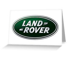 LAND ROVER LOGO Greeting Card