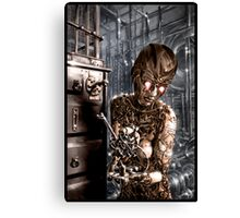Steampunk Painting 001 Canvas Print