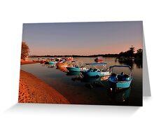 Maroochy River At Sunrise, Maroochydore. Queensland, Australia Greeting Card