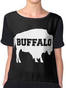 Buffalo Silhouette Chiffon Top