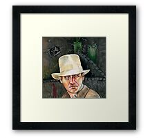 Indiana Jones. Framed Print