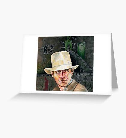 Indiana Jones. Greeting Card