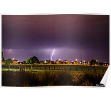 Summer Storms Poster