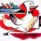 Running Duck by Gareth Stamp