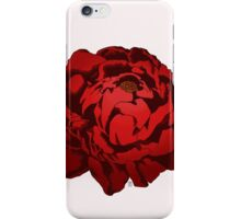 Scarlet Peony || ScarlettDesigns iPhone Case/Skin