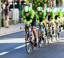 Belkin Pro Cycling Team by Wei Yuet Wong