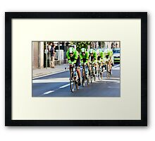 Belkin Pro Cycling Team Framed Print