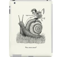 Full Speed Ahead! iPad Case/Skin
