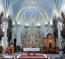Cathedral of Saint Andrew - Apse and Transept by Francis LaLonde