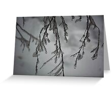 Frozen Fingers Greeting Card